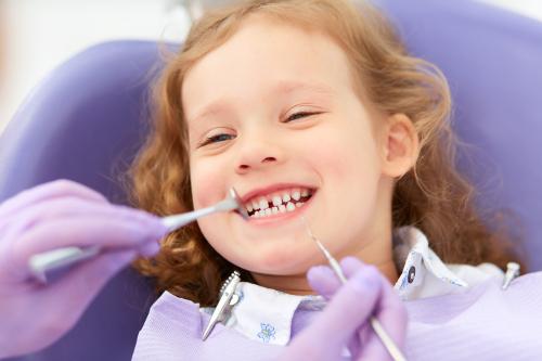 Gratis tandvård för barn och ungdomar